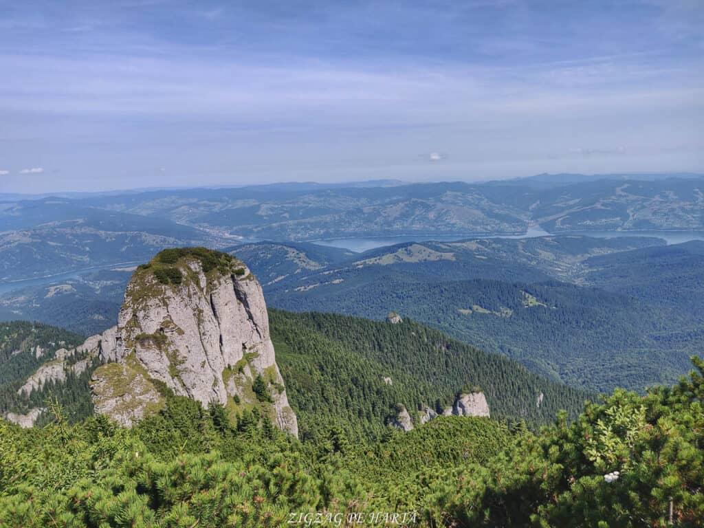 Vârful Toaca 1904 metri, Masivul Ceahlău