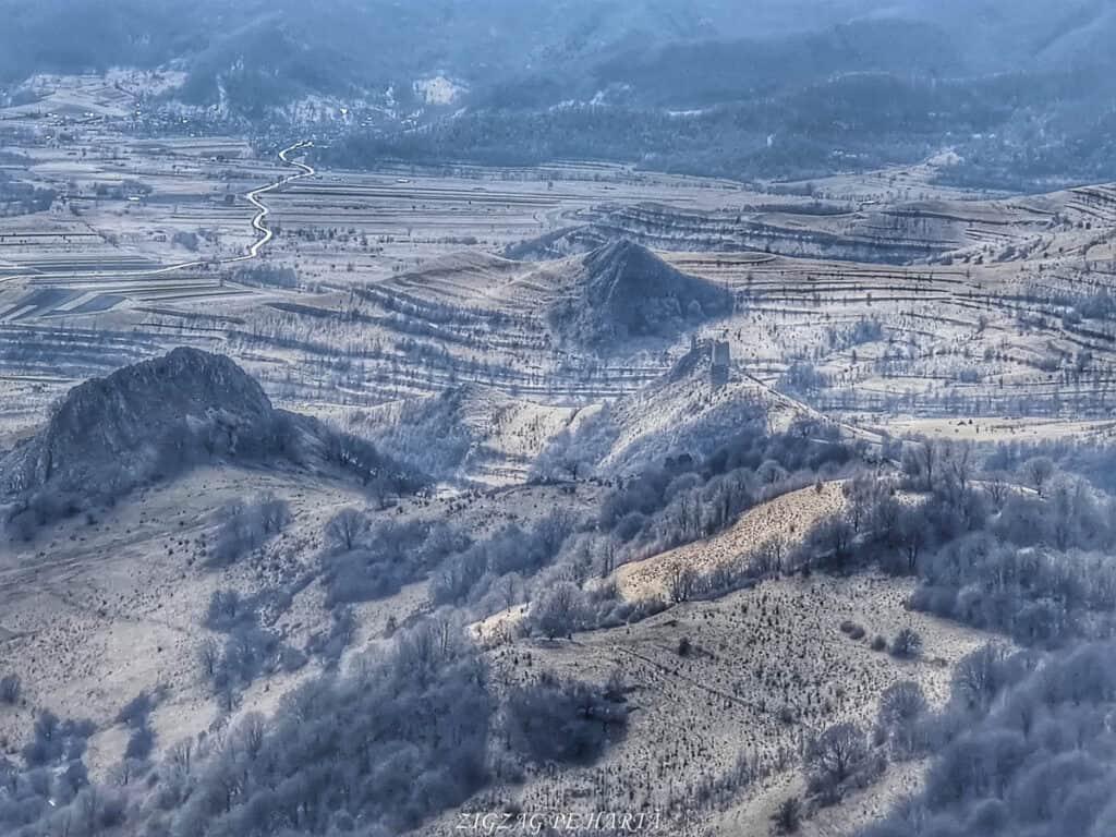 Vârful Ardașcheia 1250 metri din Munții Trascăului, jud. Alba - Blog de calatorii - ZIGZAG PE HARTĂ - IMG 20210306 120515 01